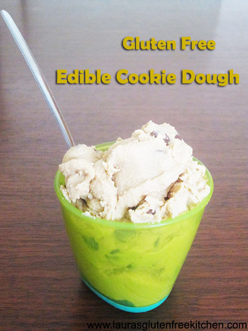 Gluten Free Edible Cookie Dough - no eggs