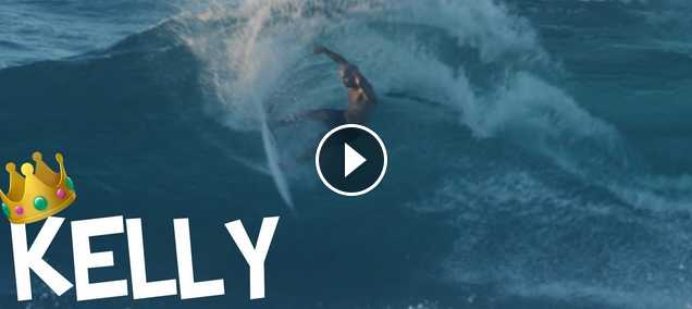 slow motion KELLY SLATER SURFING NORTH SHORE 300fps RED