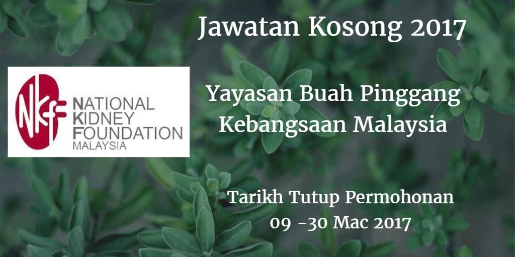 Jawatan Kosong NKF 09 -30 Mac 2017