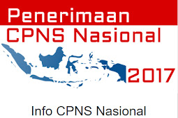 Resmi Dibuka Penerimaan CPNS Nasional Periode II Tahun 2017 di 61 Kementerian dan Lembaga