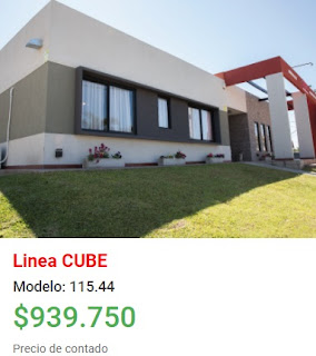 Viviendas Roca precios 2018 linea Cube modelo 115 44