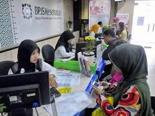 Foto suasana Kantor cabang BPJS Kesehatan kota Palangkaraya
