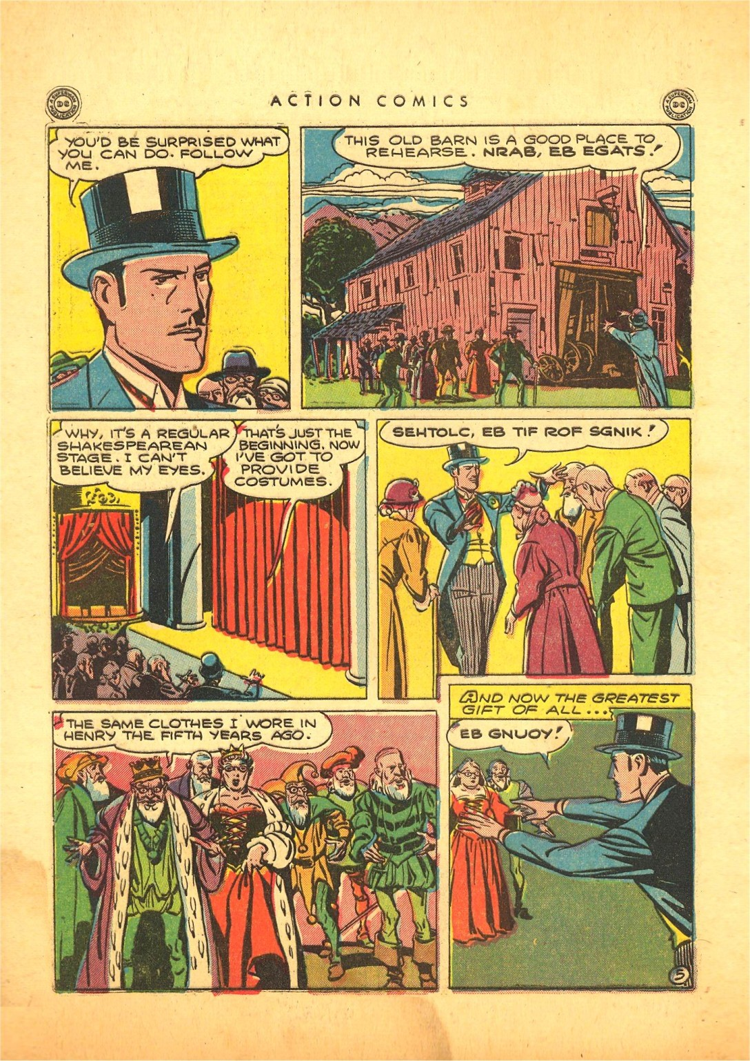Read online Action Comics (1938) comic -  Issue #87 - 45