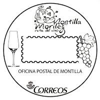 Matasellos turístico de la Oficina Postal de Montilla - 2017