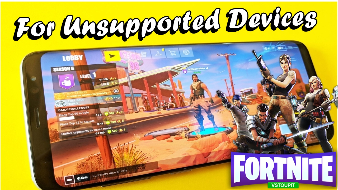 HOW TO DOWNLOAD/PLAY FORTNITE MOBILE ON ANY ANDROID DEVICE