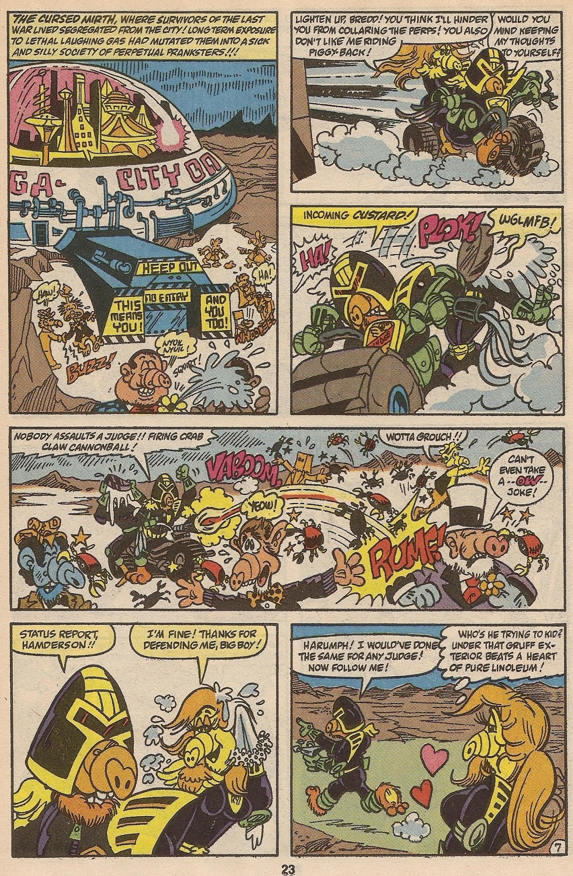 Read online ALF comic -  Issue #35 - 24