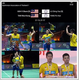 Goh%2BV%2BShem - Badminton : Goh V Shem dan Tan Wee Kiong Juara Thailand Masters 2019
