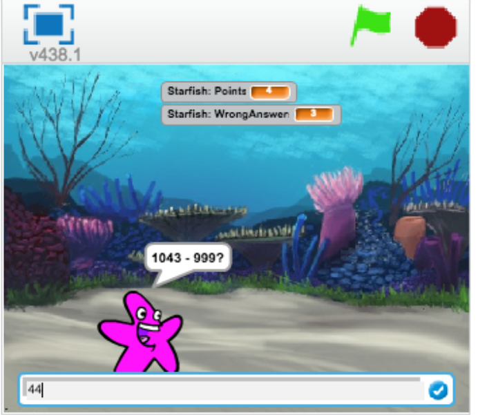 Move My Robot: A Simple Math Game in Scratch - Introducing