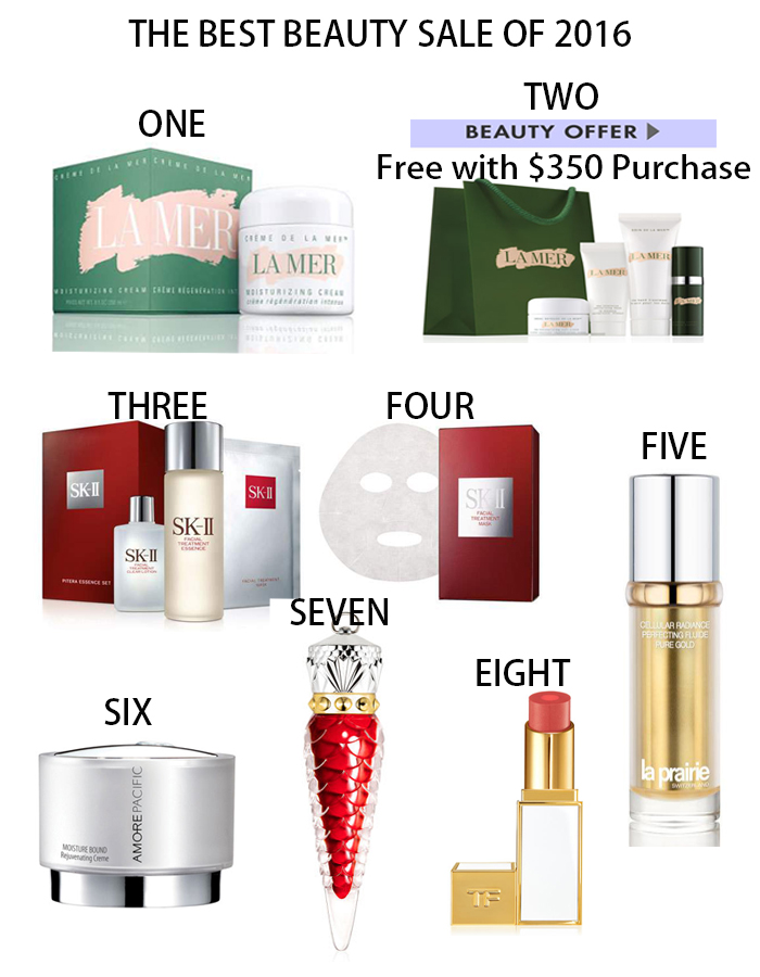 the best beauty sale, beauty sale, skin care products, la mer, skii, la prairie, how to prepare your skin for big event, skin care how to, beauty blog, beauty blogger, beauty sale