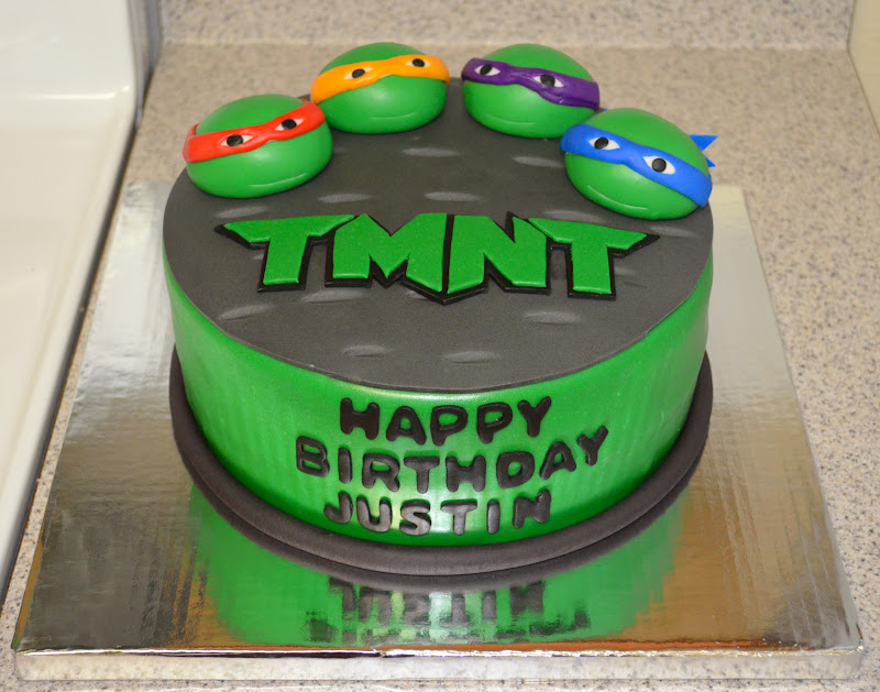 Sweetcakern Teenage Mutant Ninja Turtles Cake