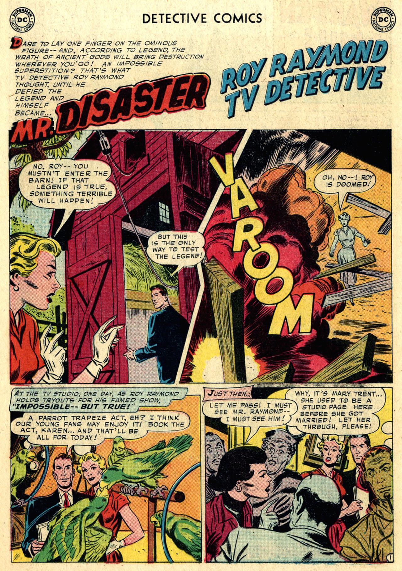 Read online Detective Comics (1937) comic -  Issue #258 - 18