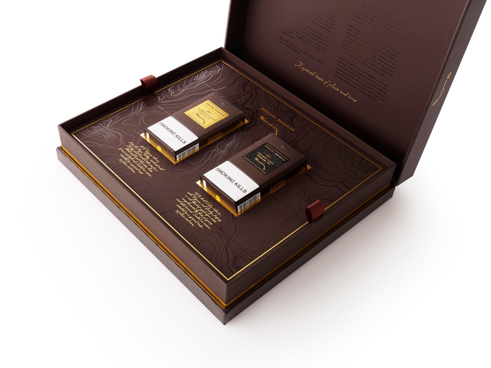 Dunhill Special Reserve Global Travel Retail Pack On