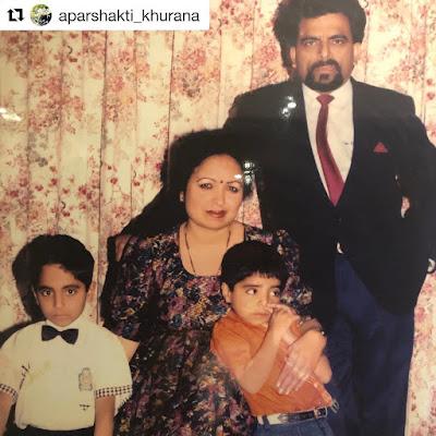 Ayushmann Khurrana childhood pic