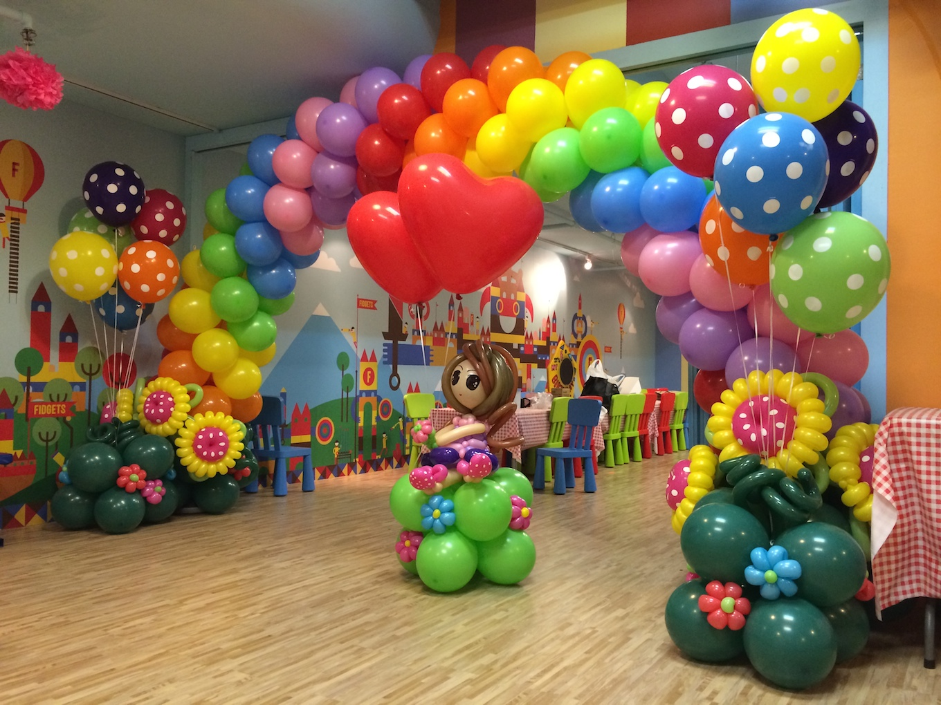 Jaipurbirthdaypackages Birthday Balloon Decorations In Jaipur