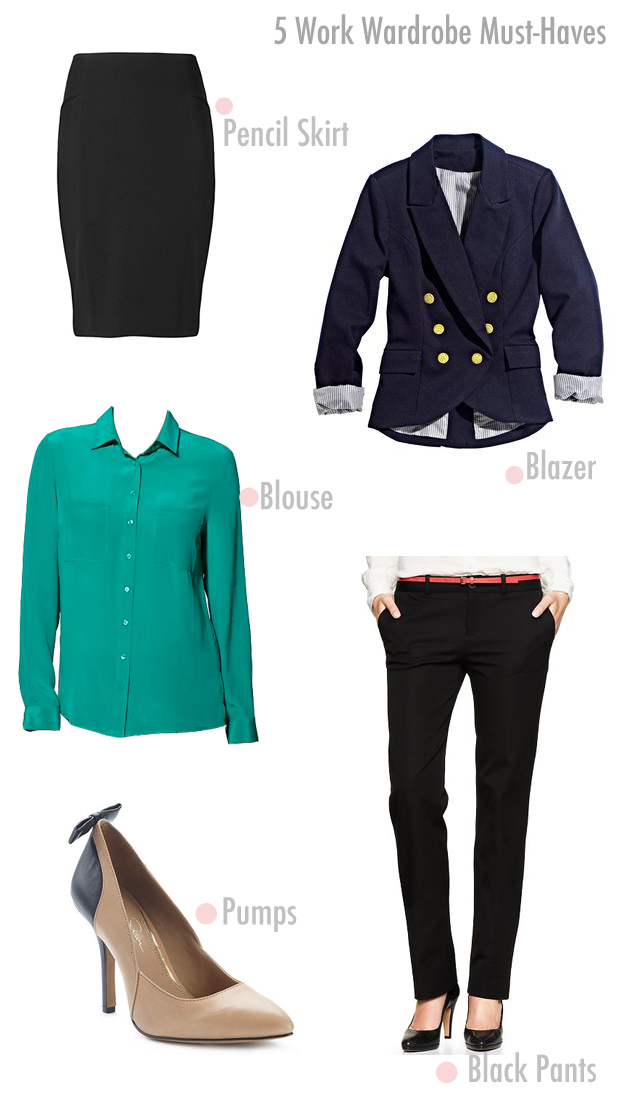 Wardrobe Must Haves: Ask VF: 5 Work Wardrobe Must-Haves