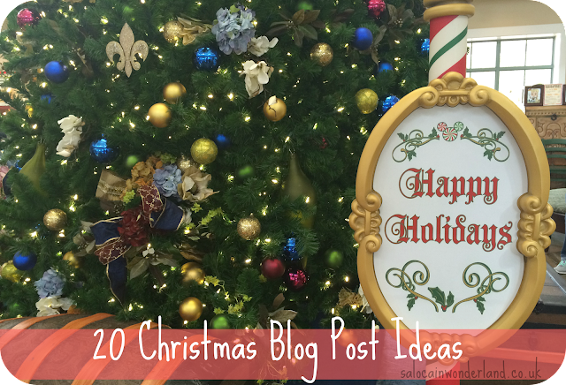 christmas blog post ideas