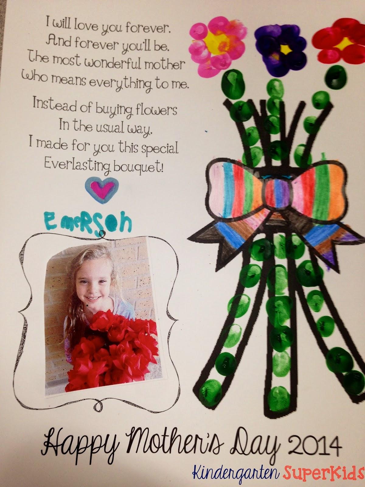 Kindergarten Superkids Mother S Day Freebie A Double Sale