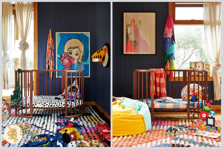 Color en las paredes. Tonos oscuros con personalidad y glamour. Dormitorios soñados para chicos.
