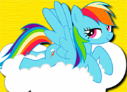 Pony Rainbow Dash Hidden Stars