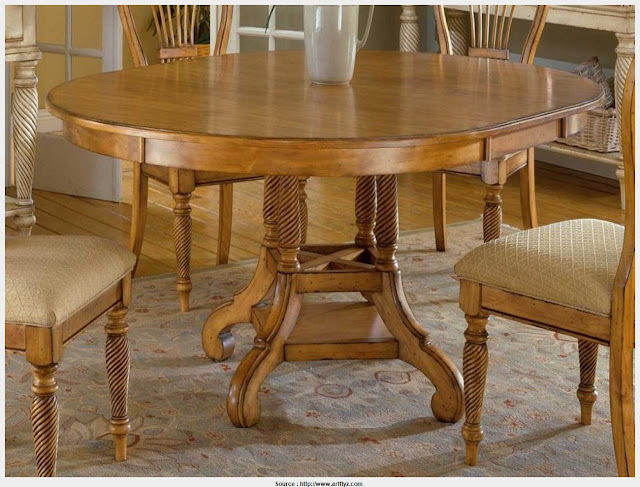 Great Antique Pine Dining Table Collection
