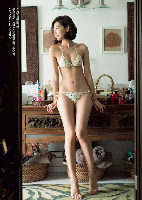 Rena Takeda 武田玲奈 Weekly Playboy 週刊プレイボーイ No 39-40 2016 Pics 3