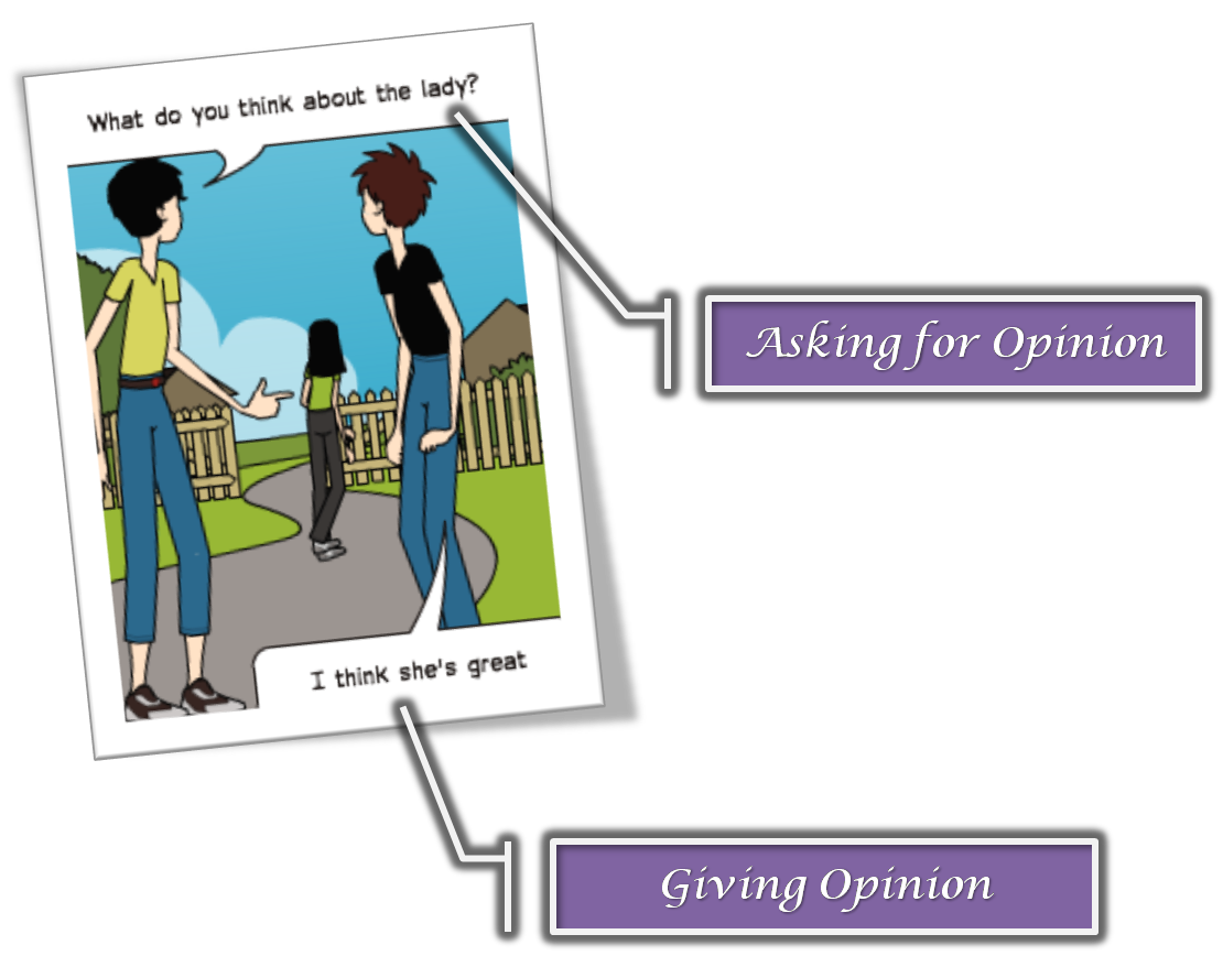 Expressions Of Giving And Asking For Opinion English Blog