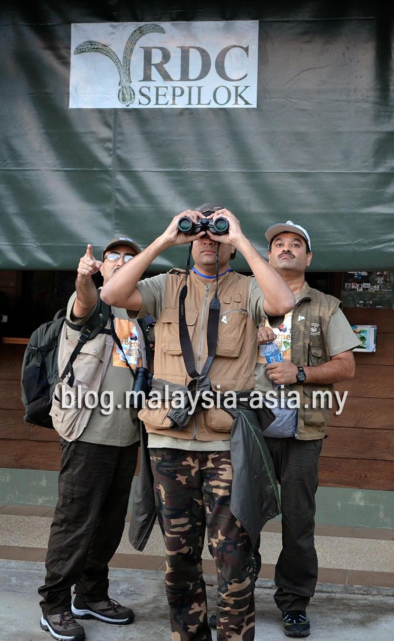Indian birders in Malaysia