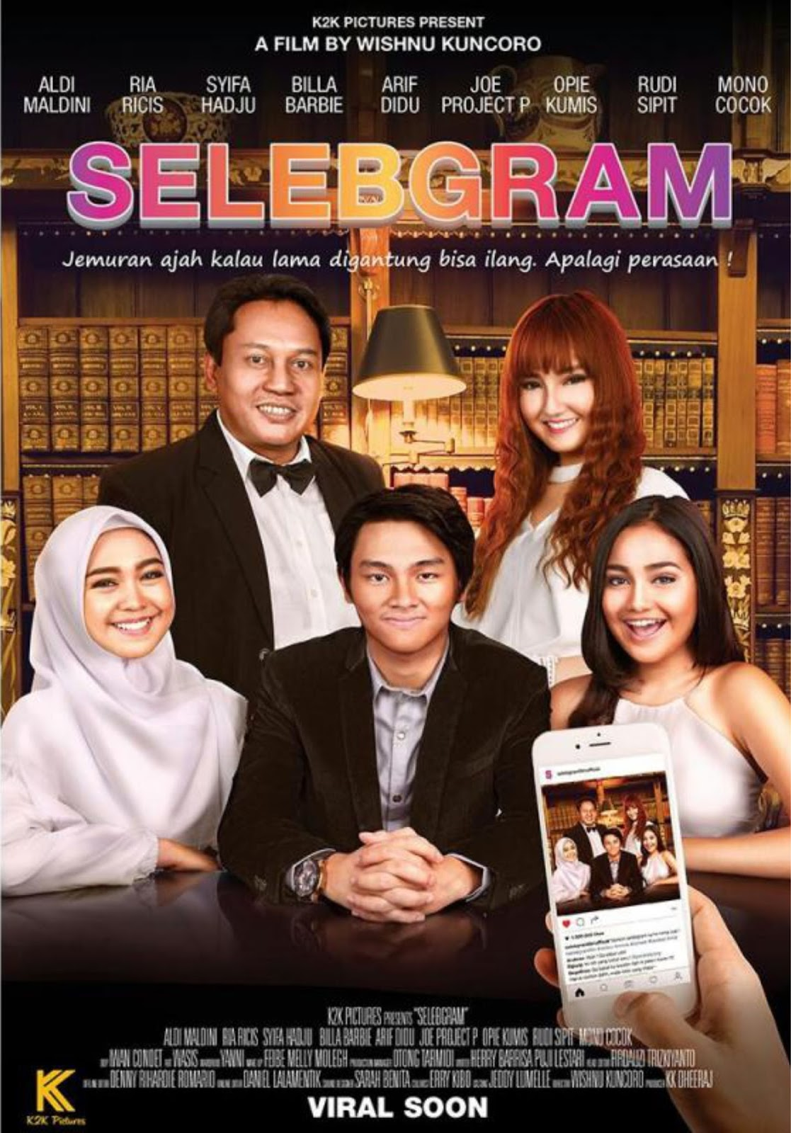 Download Selebgram (2017) WEBDL 720P 480P Full Movie Indonesia