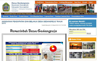 WEBSITE DESA GEDANGREJO