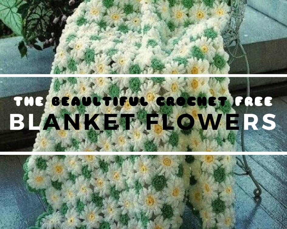 Blanket Crochet Flowers Crochet Designs And Free Patterns