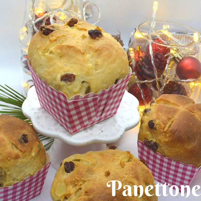 Panettone, receta facil