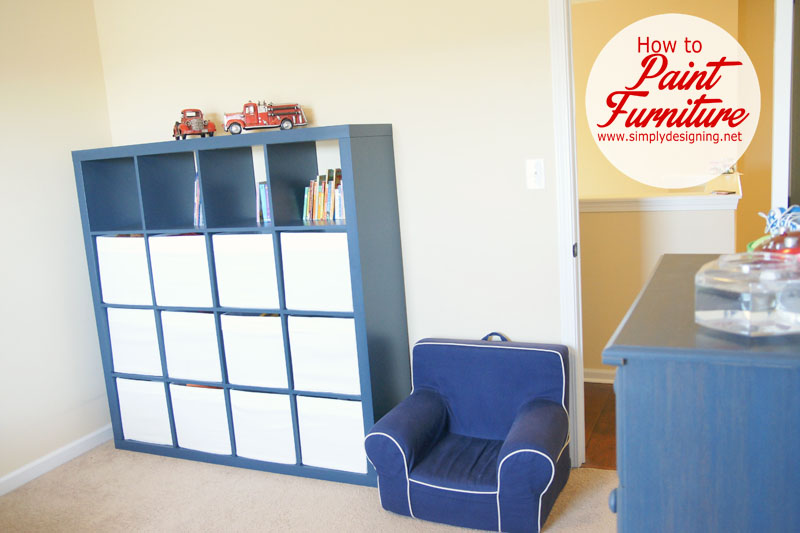 How To Refinish Furniture + A Giveaway | How To Paint Furniture And Get A  Smooth