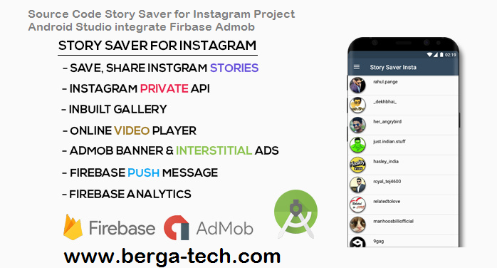 Source Code Story Saver for Instagram Project Android Studio