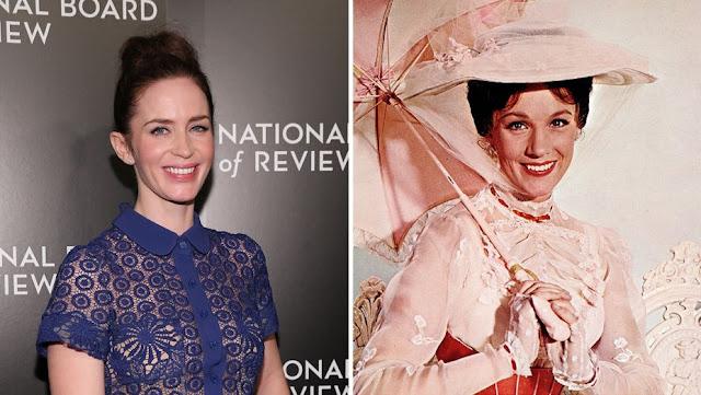 Emily Blunt podría protagonizar la secuela de 'Mary Poppins'