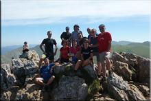 Larrunarri-Txindoki mendiaren gailurra 1.342 m.  --  2016ko irailaren 10ean