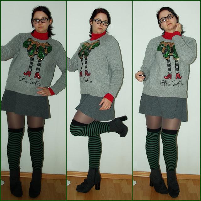 [Fashion] Elfie Selfie! It´s Christmas time