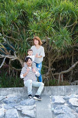 沖縄 家族 ロケーションフォト ビーチ
