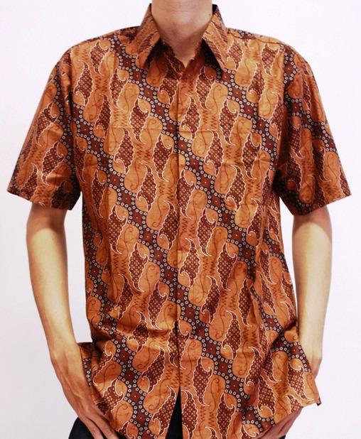 Gambar Baju Batik Kantor Pria: Model Baju Batik Untuk Kerja Pria
