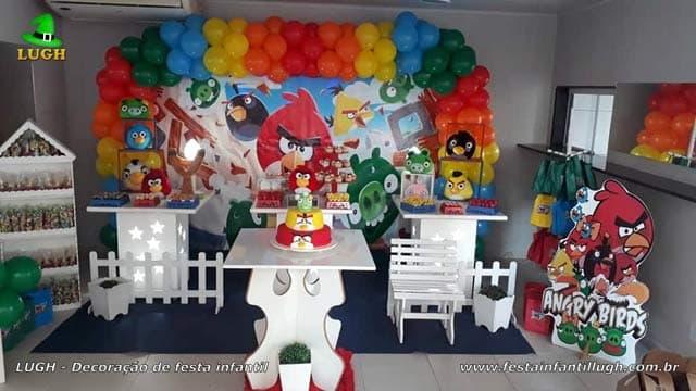Decoração Angry Birds provençal - Festa de aniversário