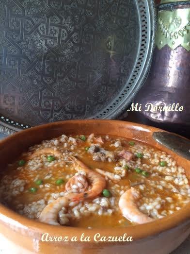 Arroz a la cazuela - La cocina de Estela