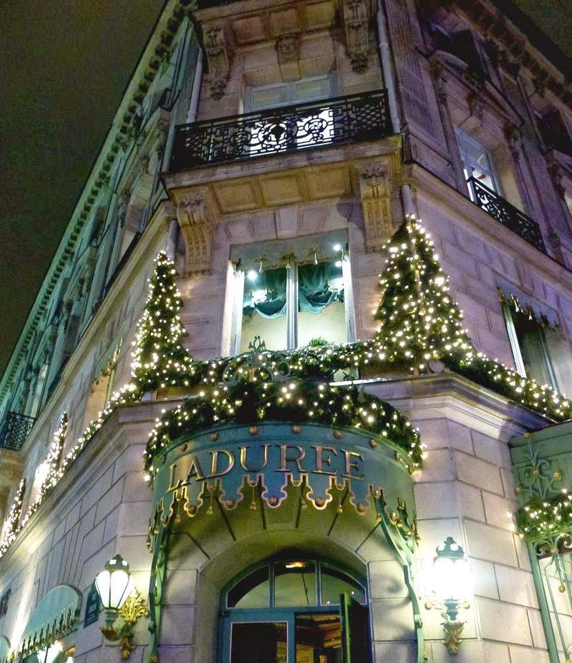 Laduree, Champs-Elysee, Paris