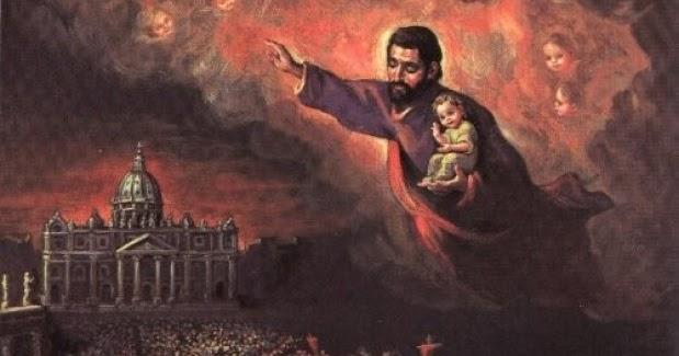Santoral Dominicano: San José, Patrono de la Iglesia, ruega por el Papa  Francisco