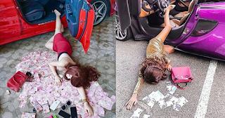 Νέα μόδα των πλουσίων: Πέφτουν από τα πανάκριβα αυτοκίνητα τους για να δείξουν τα πλούτη τους