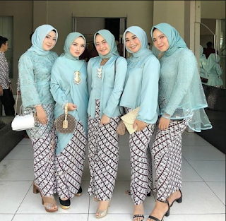 50+ Model Kebaya 2019 Hijab untuk Wisuda, pesta Desain Modern