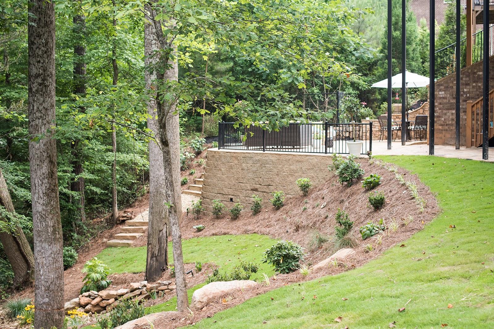 backyard landscaping revealed darling darleen a lifestyle