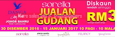 Sorella Warehouse Sale 2016 2017