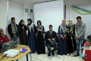 كاتبان فلسطينيان يحاضران بالثانوية التأهيلية عقبة بن نافع بالبئر الجديد