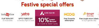Snapdeal Unbox Diwali Sale - Get upto 70% off + 10% discount via Axis Bank offer (20-25th September)