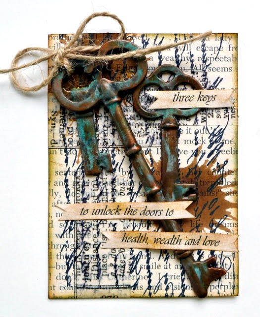 Sophisticated Finishes Patina Key Process Tutorial and Product Review by Dana Tatar