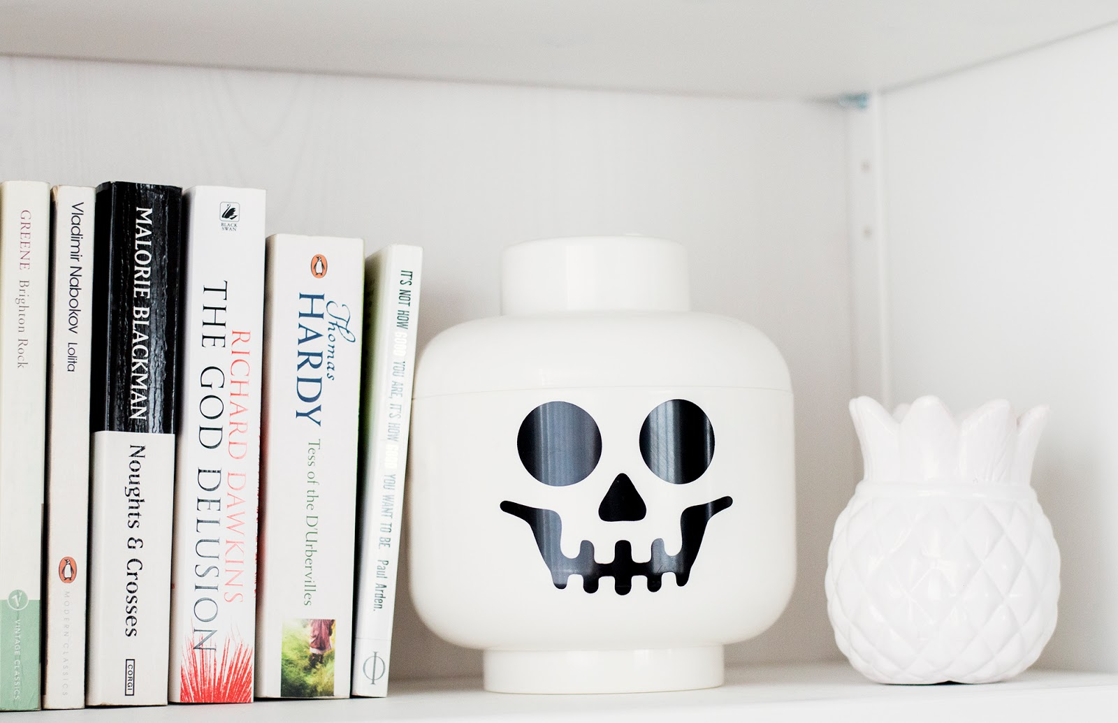 Lego Head, storage, bookshelves, home, homeware, interiors